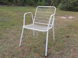 full size of chair luxury metal patio 10 mesh chairs with white color and material metal
