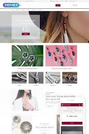 Shiny Story Jewelry Opencart Template Jewelrydesign