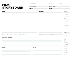 Free Storyboard Templates Best Proposal Storyboard Template Word Templates Free Premium Movie 48