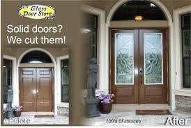 fiberglass front doors with glass exterior panels want door inserts installed