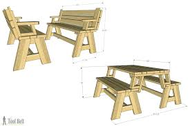 plans for picnic table convertible picnic table and bench folding picnic table plans convertible picnic table and bench folding picnic folding picnic table