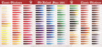 Old Holland Classic Oils In 2019 Holland Painting Medium Art