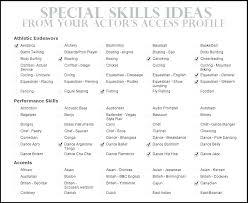 Resume Skills And Abilities Resume Skills And Abilities Resume