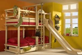 View in gallery Make the bunk beds a lot more fun with a slide