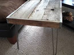 tables modern wood industrial style  modern industrial reclaimed rustic wood coffee table side table zoom