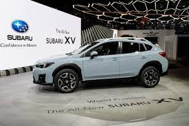 2018 subaru xv colors. modren colors 2018 subaru crosstrek geneva auto show featured image large thumb0 in subaru xv colors e
