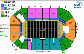 Florida Times Union Center Seating Chart Times Union Center Map
