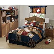 Kids Sports Bedding | Sports Team Comforters | Football Themed ... & Classic Sports Full/Queen Quilt with 2 Shams Adamdwight.com
