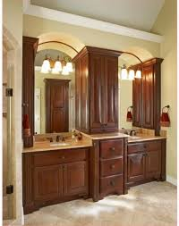 Double Vanity Cabinets Bathroom Painting Bathroom Cabinets Brown Guide To Painting Cabinets House