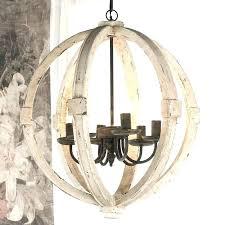 white wooden chandelier wood sphere chandelier wooden chandeliers white wooden globe chandelier wood sphere chandelier distressed