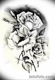 эскиз розы для тату девушке 08032019 004 Tattoo Sketches