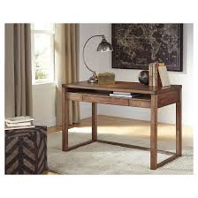 home office small desk. baybrin home office small desk rustic brown signature design by ashley d