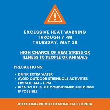An Excessive Heat Warning has been ...