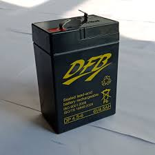 Bình ắc quy cho đèn sạc, xe đồ chơi trẻ em 6V 4.5AH (DP4.5-6) loại ắc quy  khô, xả sâu - Đèn sạc Thương hiệu OEM