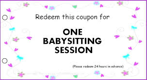Coupon Book Template Birthday Gift Free For Husband Blank Coupons