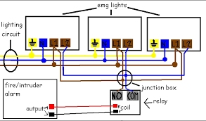 wiring diagram for emergency lights wiring image emergency light wiring diagram wiring diagram schematics on wiring diagram for emergency lights