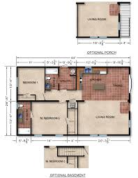 michigan modular home floor plan 126