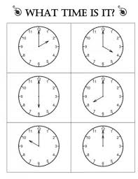 18 Quick Telling Time To The Hour Resources Teach Junkie