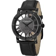 stuhrling original watches overstock com the best prices on stuhrling original men s winchester advanced swiss quartz strap watch