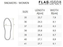 Golden Goose Size Chart Us Size Chart Of Golden Goose Sneakers Women Turnschuhe