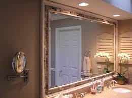 wood mirror frame ideas.