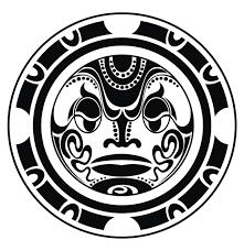 татуировка полинезийская маска тики значение фото эскизы