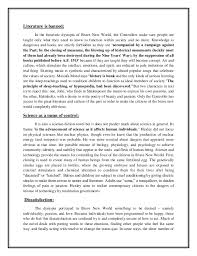 brave new world government essay  brave new world essays and papers 123helpme com