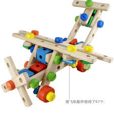 Designer Gifts For Toddlers Montessori Wooden Nut Fittings Combination Set Educational
