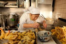 much of the cuisine we now know and think of as ours came to us preparing tempura in tokyo