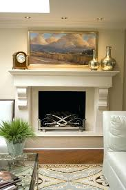 fireplace mantel lighting
