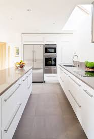 great contemporary kitchen floor tile large white morespoon excellent modern flooring idea alluring on using high