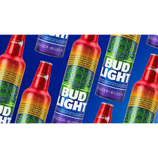Bud Light Rainbow Cans Bud Light Celebrates World Pride With Rainbow Inspired