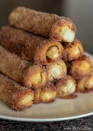 Cinnamon Cream Cheese Roll Ups Just 6 Ingredients Lil Luna