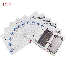 <b>UANME</b> 30 <b>x</b> 24 cm 11pcs/lot Professional Magnetic Screw Mat for ...