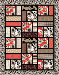 Best 25+ Quilt patterns free ideas on Pinterest | Quilting ideas ... & Reminds me of a simplified Turning Twenty. I don't like the colors, but the  pattern is great! Adamdwight.com