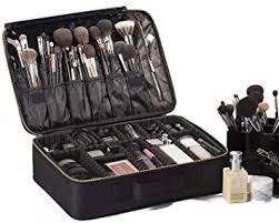rownyeon portable eva professional makeup case 16 14 makeup artist case makeup train case makeup artist