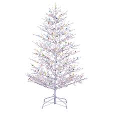 Gold Christmas Lights Lowes White Metal Tree Outdoor Christmas Christmas Lights