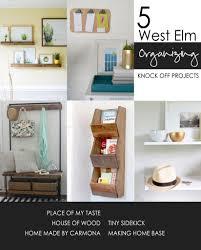 diy furniture west elm knock. West Elm Organizing Knock Offs Diy Furniture O