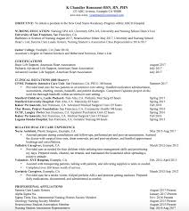 Nursing Resume How To Write A Nursing Resume And Make It Stand Out