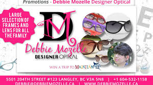 Debbie Mozelle Designer Optical Langley Bc Debbie Mozelle Youtube