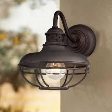 industrial style outdoor lighting. Franklin Park Metal Cage 9\ Industrial Style Outdoor Lighting G