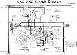 motorcycle wiring diagrams r5c 350