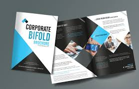 How To Design A Bifold Brochure Corporate Bifold Brochure Design Templates Freedownload