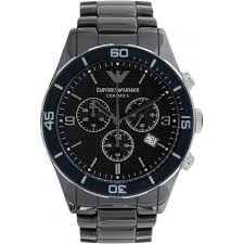 armani watch ar1429 buy chronograph emporio armani watch ar1429 uk armani watches emporio armani mens black ceramic chronograph watch ar1429