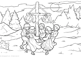 Sweden 6 Coloring Pages 24