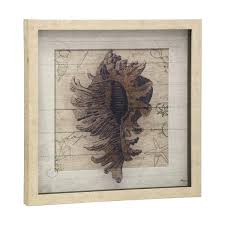 shadow box wall art textured print on glass with linen background light wood shadowbox wall art