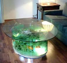 coffee table aquarium diy decoration ideas for baby shower