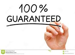 Image result for GUARANTEED