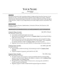 Good Resume Examples Amazing Good Resume Examples For Jobs Gentileforda