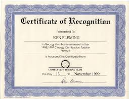 Employee Recognition Award Certificate Template Best